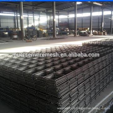 Cold ribbed steel bar welded concrete reinforcing steel mesh (manufacturer)