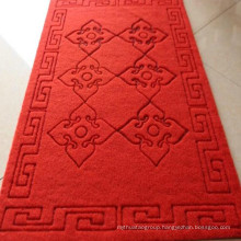 Anti-Slip Carved Door Mat with PVC Back for Elevator Corridor