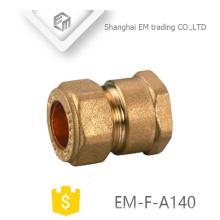 EM-F-A140 Conector rápido hembra conector rápido latón unión tubo de unión