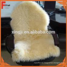 Piel de piel de oveja australiana del color natural verdadero de calidad superior de la piel para el sofá