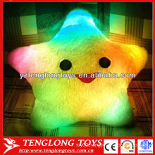 Manufacturer wholesale five star shape LED light pillow