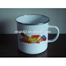 china enamel milk mug tea cup