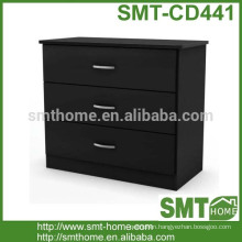 Hot sale wood 3 drawer cabinet design chest furniture