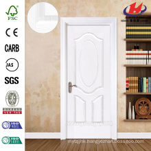 JHK-003 Classical Design 8mm Depth Groove Rose White Primer Wooden Door