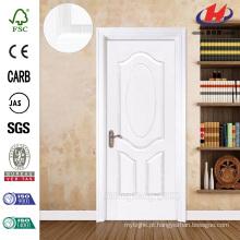 JHK-003 Design Clássico 8mm Profundidade Groove Rose White Primer Porta de madeira