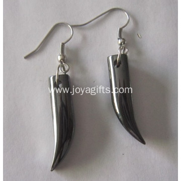 China Supplier Fashion Jewelry Hematite Pepper Earring