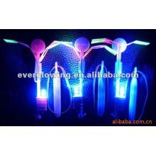 flèches volantes avec lumière led