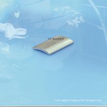 Zn Coating High Quality Arc NdFeB Neodymium Permanent Magnet Ts16949