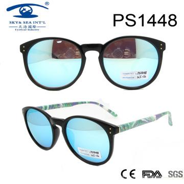 2017 Новые солнечные очки круглого типа солнечной продажи ПК (PS1448)