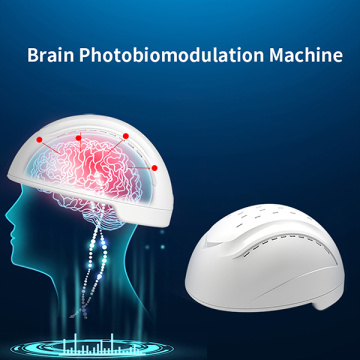 dispositivo de terapia PBM de fotobiomodulación cerebral 810nm casco
