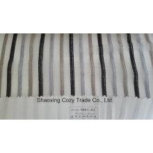 Neue Populäre Projekt Streifen Organza Voile Sheer Vorhang Stoff 008293