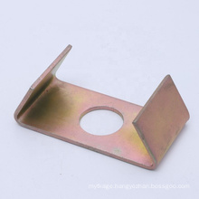 custom stamping punching sheet metal slotted 45 degree aluminum angle corner brackets