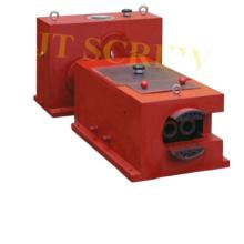 65/132 caixa de engrenagens de redução dupla para máquina extrusora