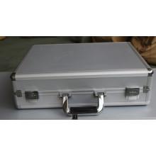 Caja de herramientas de aluminio, caja de maquillaje de aluminio