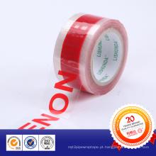 BOPP Custom Design Logotipo Impresso Embalagem Fita