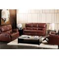 Sofá elétrico reclinável EUA L & P sofá do mecanismo para baixo do sofá (725B #)
