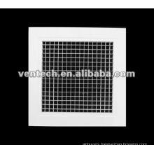 aluminium egg crate grille