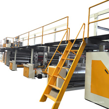Fully automatic Double wall corrugated cardboard 5 ply carton box production line
