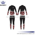 Custom Stripes Black Sublimated Cheer Uniformen