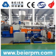 Plastic Masterbatch PE/PP/ABS Parrel Twin Screw Water-Ring Pelletizing/Compounding/Recycling/Granulating Extrusion Machine