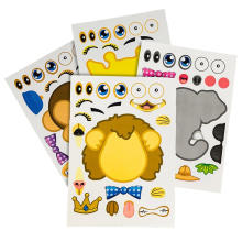 Party Supplies Game Stickers Removable Diy Creative Stickers For Kids