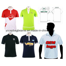 Kundenspezifisches leeres Polo-Hemd Das Polohemd der Männer