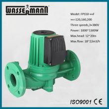 Warmwasser-Umwälzpumpe, 3-Phasen, 3 Geschwindigkeiten, Dn50