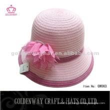 Chapéu decorativo de bolonho decorativo de papel de moda coreano