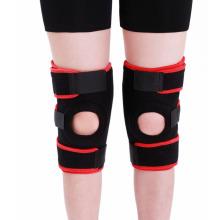 Metal Spring Neoprene Sports Knee Support Brace