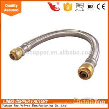 acier inoxydable flexible / haute pression flexible / eau chaude tuyau flexible en acier inoxydable flexible / haute pression flexible / eau chaude tuyau flexible