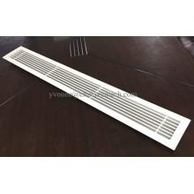 Les systèmes HVAC fournissent une grille à fente linéaire en aluminium