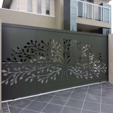 Laser Cut Steel Panels Door