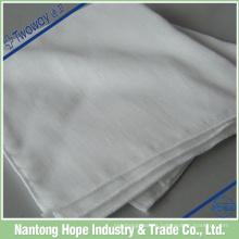 Einlagiges doppeltes Gaze Gitter-Taschentuch der Gewebe 100% der organischen Baumwolle