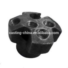 herramientas de perforación de alta calidad personalizadas de 5 hoyos por proceso de fundición de silicato de sodio