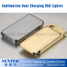 Sublimation Dual Charging USB Lighter