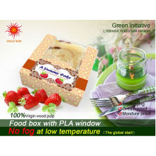 Mais recente embalagem de padaria artesanal com as janelas anti-fog