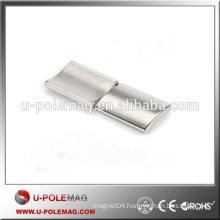 High Quality Arc Neodymium Nickel Coated Magnet