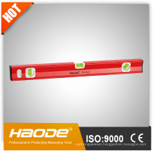 Heavy duty box aluminium high accuracy spirit level