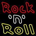 ROCK & ROLL LED NEON Sign