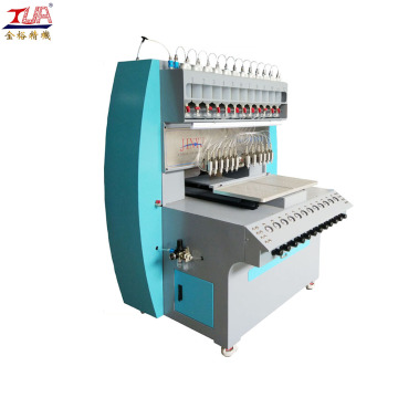 3 axis dispensing machine pvc label production line