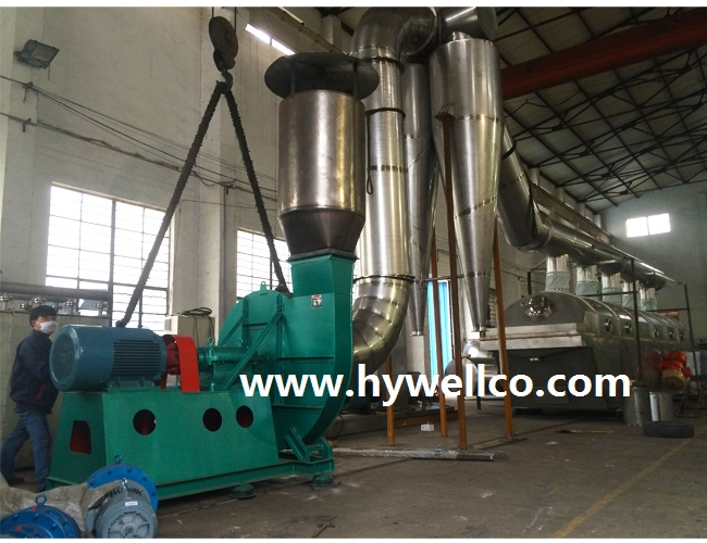 Herbicide Granule Drying Line