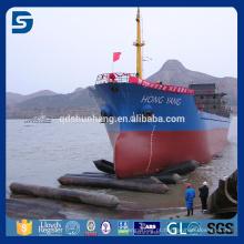 airbag de lançamento inflável marinho do navio de borracha