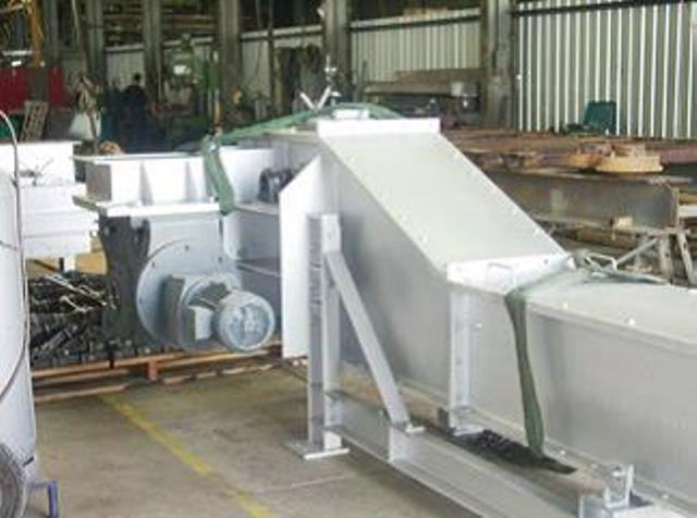 Fly Ash Chain Conveyor 1