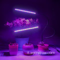 Grow Light Bar Lampada testa a due teste