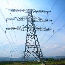 Torre de transmisión de potencia de tubo de acero lineal de 500 kV