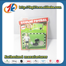 Wholesale Plastic Football Player Toy Sport Game Set for Kid