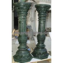 Decorative Roman Column with Stone Marble Granite Sandstone (QCM134)