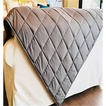 60 * 80 polegadas 20lbs weighted blanket 100% cotton