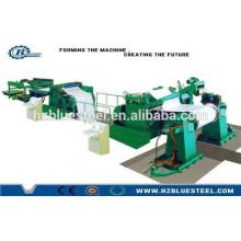 Machine de coupe enroulée en métal de petite taille de haute précision, ligne de coupe à vendre depuis Hangzhou en Chine
