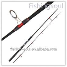 SPR042 2 Seção Girando Vara De Pesca De Carbono